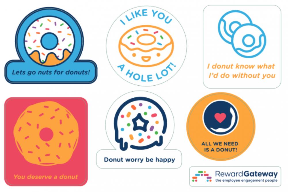 Donut time badges